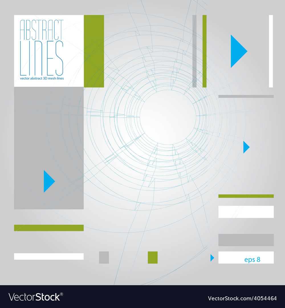 Abstract lines clear eps 8 vector