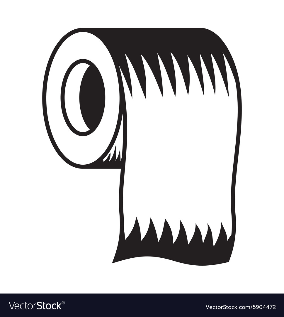 Toilet paper icon5 resize vector