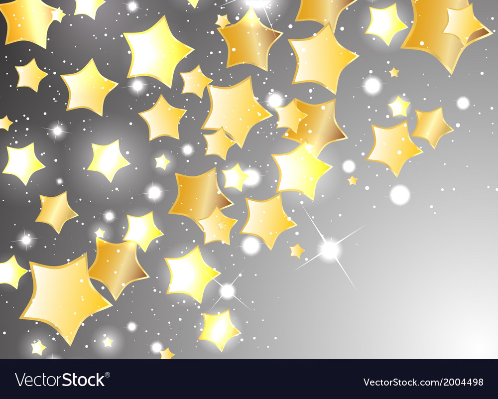Star background design vector