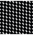 circle pattern seamless background vector image