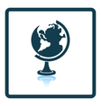 Icon of Globe vector image