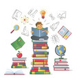education learning knowledge concept vector image