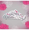 Postcard For Valentines Day vector image