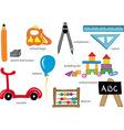 Kindergarten Toys vector image