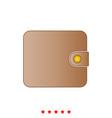 change purse it is icon vector image