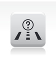 navigate icon vector image vector image