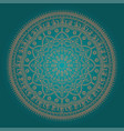 beautiful ethnic mandala vector image