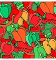 pattern with pepper vector image