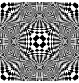 Design seamless monochrome checked pattern vector image