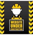 Consctructer icon Work in Progress design vector image