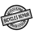 Bicycles Repair rubber stamp vector image