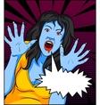 Vintage Vampire Comics vector image vector image