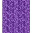 purple seamless background with floral pattern vector image vector image
