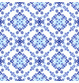 blue background royal weave pattern vector image