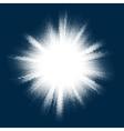 Halftone blast burst EPS 10 vector image vector image