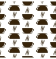 seamless of cup vector image