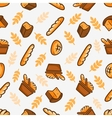 bakery seamless pattern vector image vector image