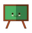 isolated school blackboard vector image