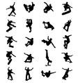 skate jumpers vector image