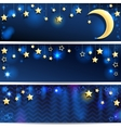 Starry Backgrounds vector image