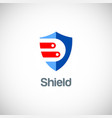 shield data guard logo vector image