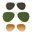 Sunglasses vector image