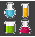 Test Tube Icons vector image