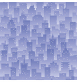seamless city background vector image vector image