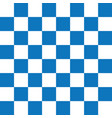 blue and white checker pattern vector image vector image