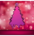 christmas card template vector image vector image
