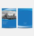 brochure flyer vector image