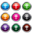 cup set 9 collection vector image