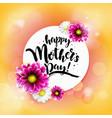 happy mothrs day banner vector image