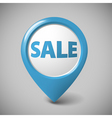 round 3d pointer for big sale vector image vector image
