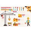 Engineering concept vector image