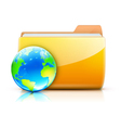 sharing concept icon vector image