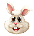 A smiling rabbit vector image vector image