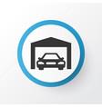 garage icon symbol premium quality isolated vector image