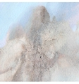 abstract watercolor mountain landscape vector image