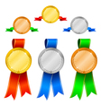 medals set 1 vector image