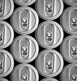 Metal cans Stock vector image