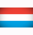 National flag of Luxembourg vector image