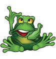 Chatty Frog vector image
