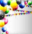 balloons decoration for you design vector image