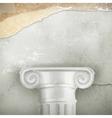 Column vintage background vector image