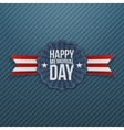 Happy Memorial Day national Banner with Text vector image