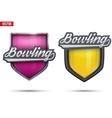 Premium symbols of Bowling Tag vector image