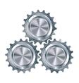 Cog Gears Mechanism vector image