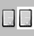 E book set vector image