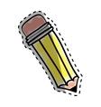 Pencil draw utensil vector image